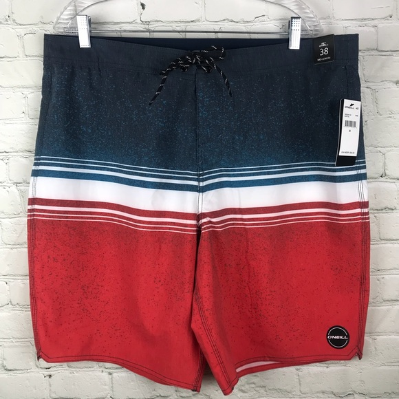 d300048932 O'Neill Swim | Oneill 38 Board Shorts Trunks Mens Red | Poshmark
